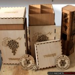Cutii Vin Placaj