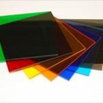Plexiglas diverse culori