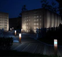Randare arhitecturala pe timp de noapte