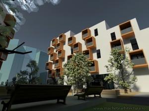 Randari 3D Exterioar Locuinte