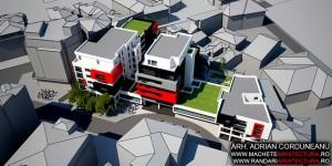 Randari 3D Cladiri Rezidentiale
