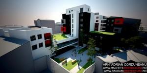Randare 3D Cladiri Imobiliare