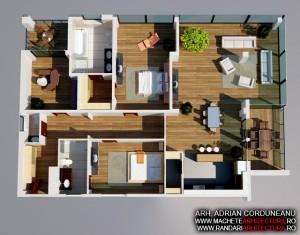 Randari Interior Ansamblu Apartamente