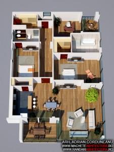 Randari Interior Apartamente