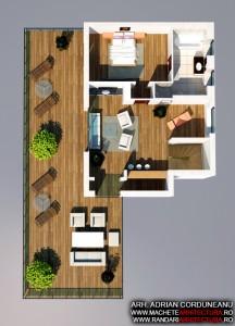 Randari Interior 3d apartament