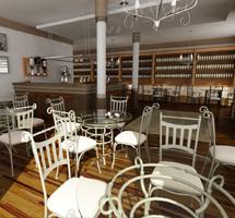 Randari 3D Interior Restaurant