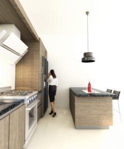 Randari 3d interioare Bucatarie