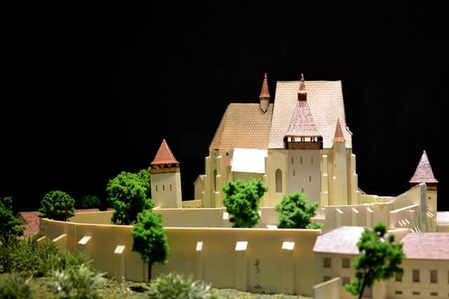 Macheta Biserici Fortificate
