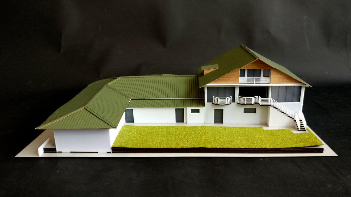 macheta de arhitectura casa