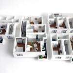 apartamente macheta arhitectura