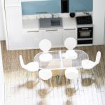 macheta detaliu interior apartament