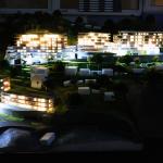 macheta iluminata complex imobiliar