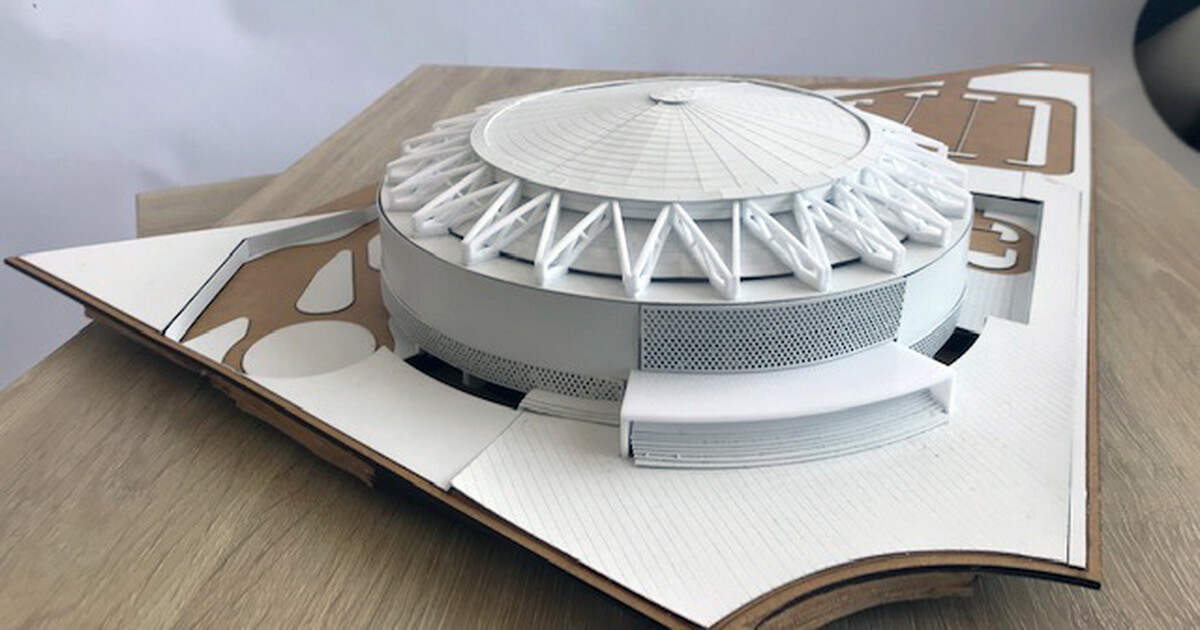 macheta concept stadion